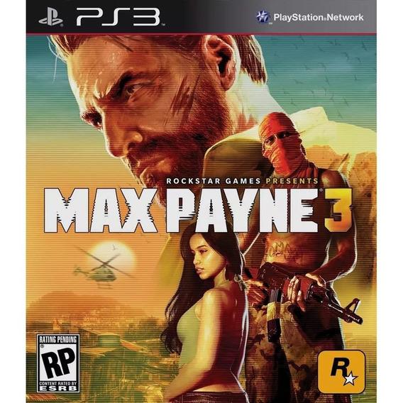 ,max Payne 3 , Midia Fisica, Semi Nova