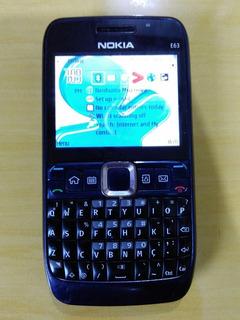 Raro Celular Nokia E63-3 Rm 450 Vivo Pronta Entrega Veja