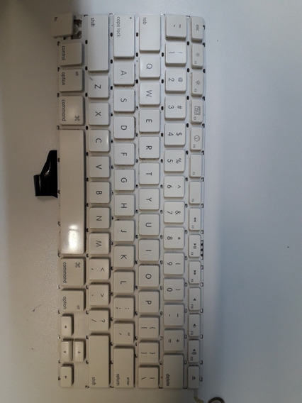 Teclas Presilhas Macbook White Unibody A1342