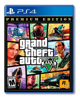 Grand Theft Auto V Premium Edition- Ps4