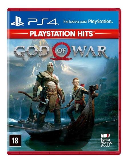 Jogo Mídia Física Lançamento God Of War Ps4 Deus Da Guerra