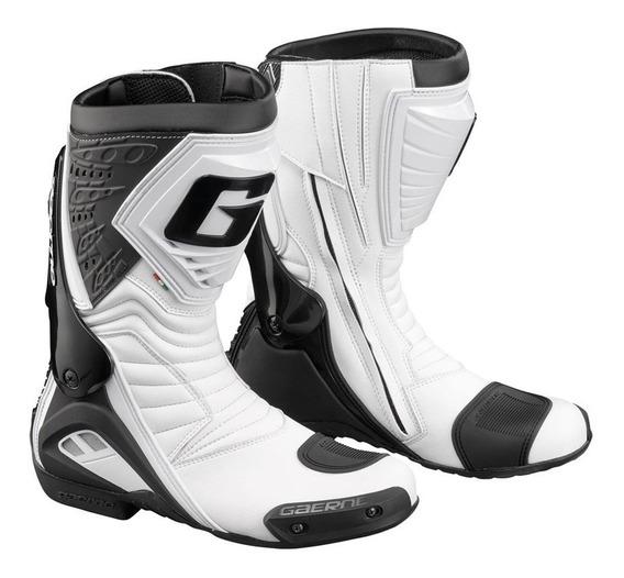 Botas Pista Gaerne G-rw Racing Blanco