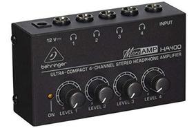 Amplificador De Fones De Ouvido Microamp Ha400 Som Brasil Dj