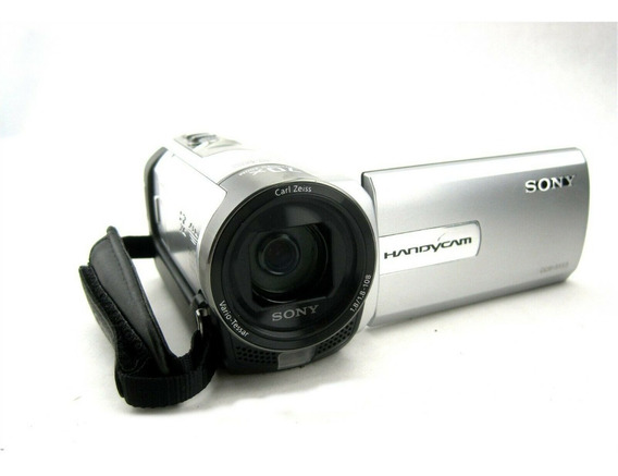 Filmadora Handycam Sony Dcr-sx65 Prata 3.0