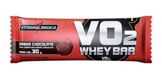 Barra De Proteína - Whey Bar 24 Unidades - Vo2 - Hipertrofia