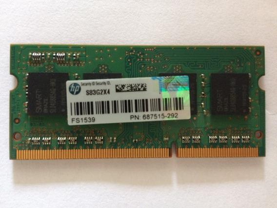 Memória 4gb Ddr3 Smart Sh564128fj8nwrnsqg 4gb