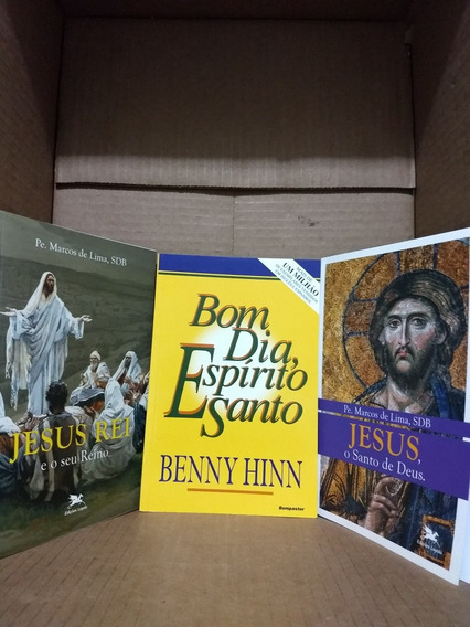 3 Livros Cristãos - Bom Dia Espírito Santo + Dois Livros