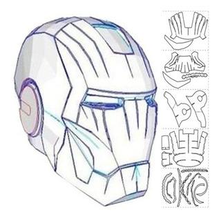 Casco Iron Man - Papercraft ( Envío X Email)