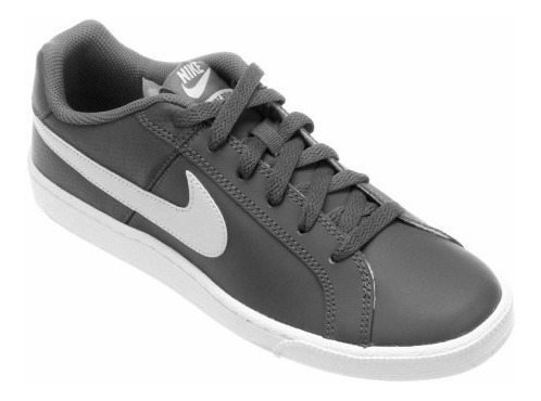 Tênis Nike Court Royale Cinza Unissex Original + Nota Fiscal
