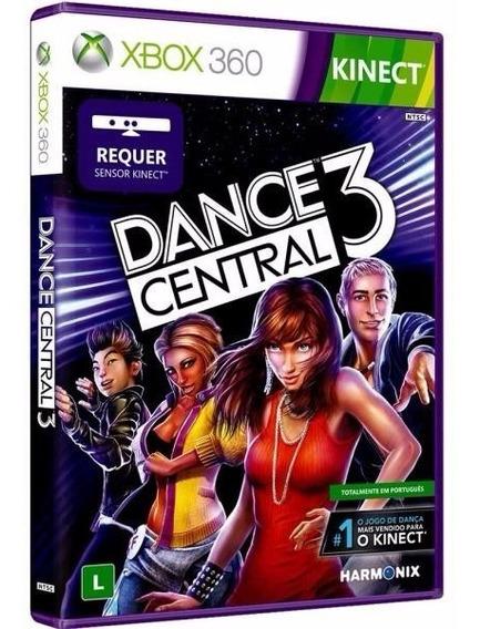 Jogo Dance Central 3 Xbox 360 Original Física Lacrado Português Frete Grátis