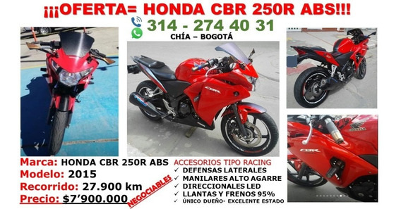 Vendo Honda Cbr 250r - Precio Negociable