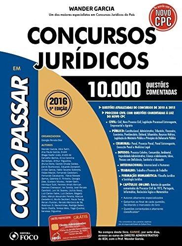 Como Passar Em Concursos Jurídicos - 10.000 Questões Comenta