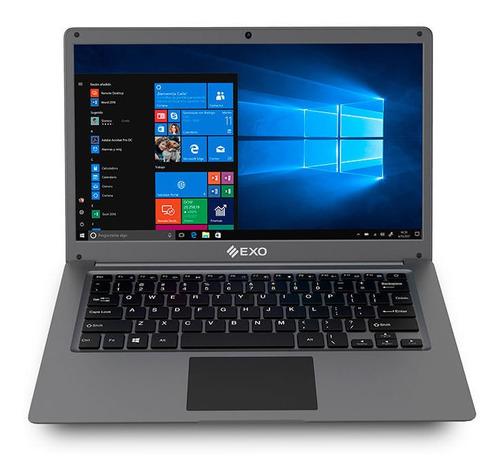 Imagen 1 de 5 de Notebook Exo 14,1  Celeron N4020 500gb 4gb M-48 Plus