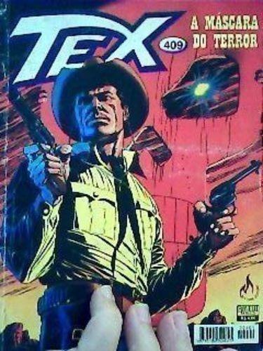 Revista Tex Nº409 Máscara Do Terror Vários