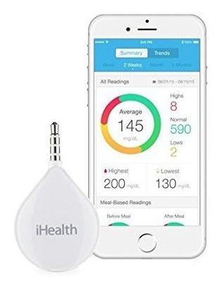 Ihealth Medidor De Glucosa Portã¡til Apto Para Apple Y And