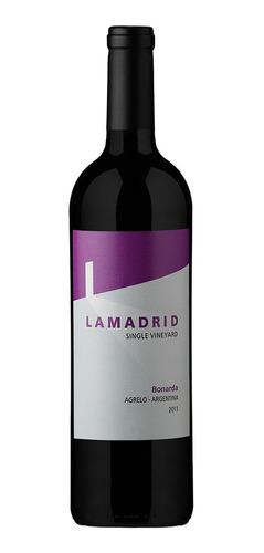 Vino Lamadrid Bonarda 750ml Local