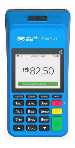 Máquina De Cartão Point Pro 2 Do Mercado Pago Com Chip Wi-fi
