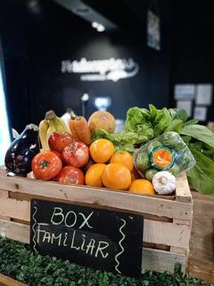 Cajón De Frutas Y Verduras Frescas Familiar 14kg Premium