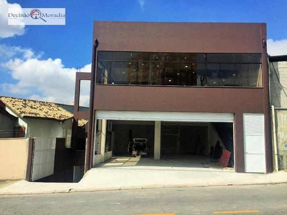 Salão Para Alugar, 200 M² Por R$ 6.500/mês - Pq.ipê / Butantã - São Paulo/sp - Sl0035