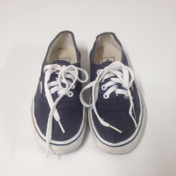 Tênis Vans Authentic Azul Marinho (tingido) - Tamanho 35