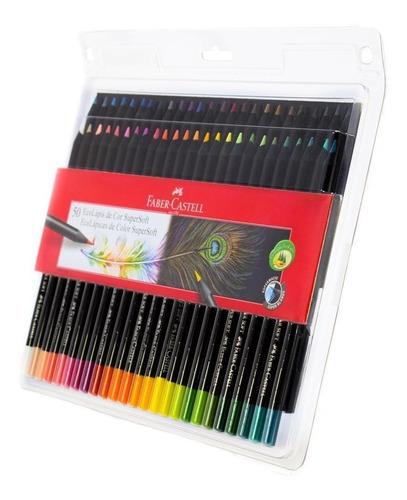 Colores Faber-castell Supersoft De 50u