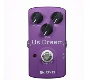 Pedal Guitarra Joyo Us Dream Overdrive Distortion, Promoção!