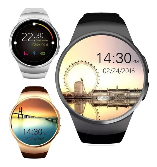 Reloj Hombre Inteligente Smartwatch Kw18 Android Ios Ml2977