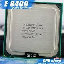 Intel Core 2 Duo E8400 Socket 775 Novo + Pasta Termica