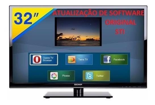 Atualização De Software/firmware Tv Led Semp Toshiba Dl3261