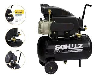 Compressor Ar 8,5pés Plus Csi 25l Schulz