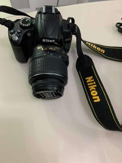 Camera Nikon D5000 Com Defeito