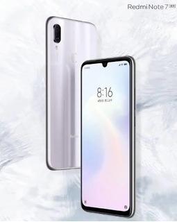 Xiaomi Redmi Note 7-128g-4g Ram Branco Global-capa-garantia