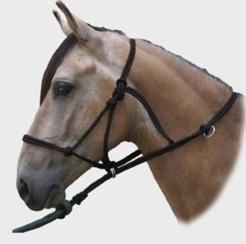 Sierra Horse Halter Cabezal Jaquima D Corrección C/guia Inc