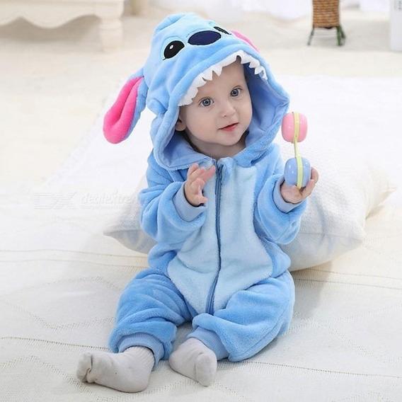 Macacão Roupinha Bebê Neném Algodão Macio Menino Menina