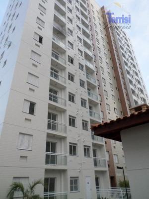 Apartamento Em Praia Grande, 02 Dormitórios, Lazer Completo Na Ocian Ap1047 - Ap1047