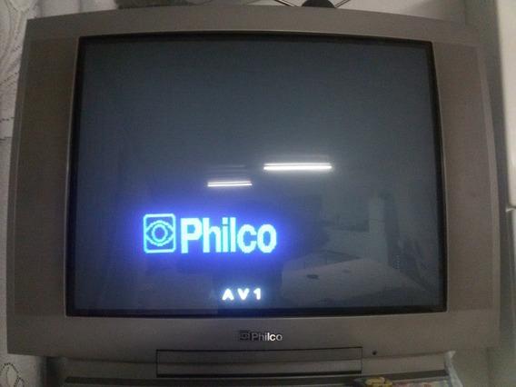 Televisao Philco 29 Polegadas Curvada Tubo
