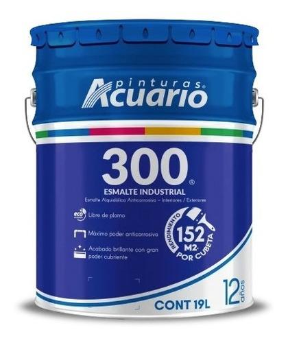 Imagen 1 de 4 de Esmalte Anticorrosivo Acuario 300 #1 Profeco - 19 Litros