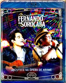 Blu-ray - Fernando & Sorocaba Acústico Na Opera De Arame