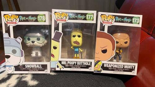 Funko Set X 3 Rick And Morty 177 178 173