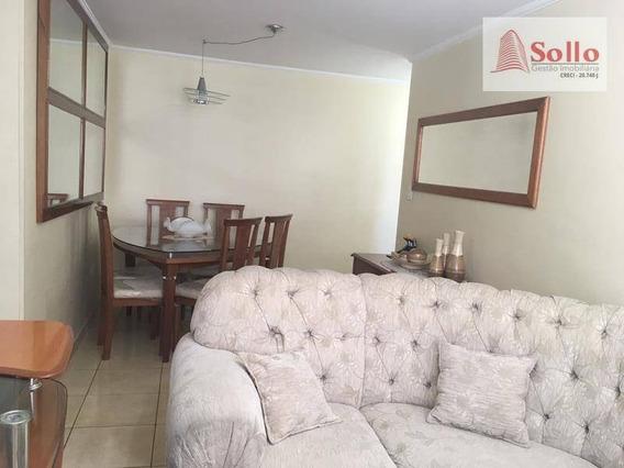 Apartamento 61m² C/ 02 Dorms E 01 Vaga - Vila Maria Baixa - São Paulo/sp - Ap0198