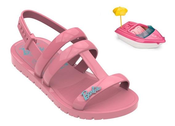 Sandália Infantil Barbie Iate Promoção Linda Confortavel