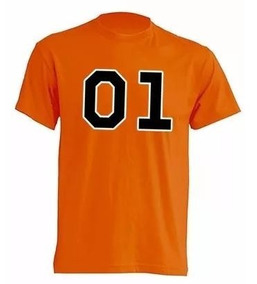 Camiseta Estampada 01 Dukes De Hazzard General Lee /infantil