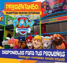 7 Botargas Paw Patrol Para Ser Operadas Por Niños 3-7 Años