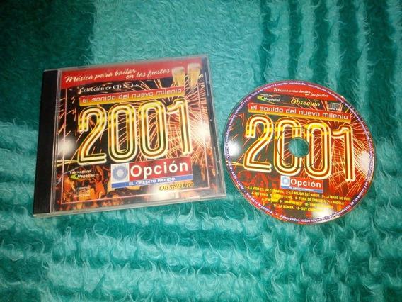 Cd El Sonido Del Nuevo Milenio 2001- Opción