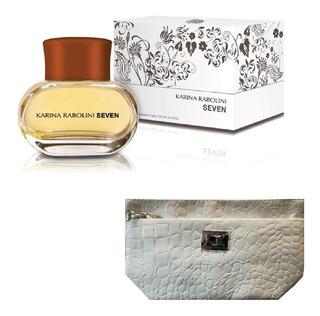 Perfume Seven Karina Rabolini 100ml + Cartera En 6 Cuotas