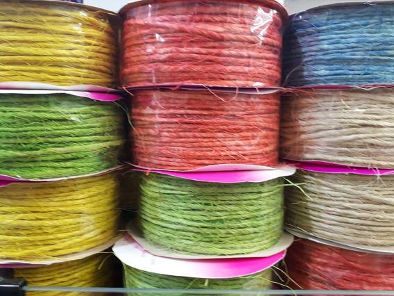 Corda De Sisal Coloridas E Natural 2 Unidades
