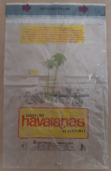Embalagem Havaianas