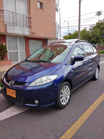 Mazda 5 Azul, Siete Puestos, Perfecto Estado. Permuta