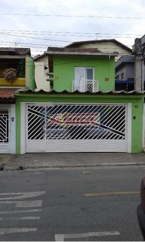Sobrado Com 3 Dormitórios À Venda, 135 M² Por R$ 650.000,00 - Jardim Santa Mena - Guarulhos/sp - Ai39