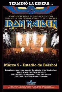 Iron Maiden En Venezuela Dvd Excelente Calidad !!!